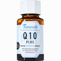 Naturafit Q 10 Plus  Kapseln 90 Stück