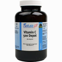 Naturafit Vitamin C500 Depot  Kapseln 180 Stück
