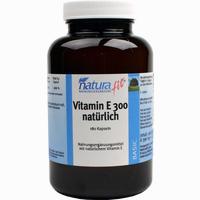 Naturafit Vitamin E 300 Nat  Kapseln 180 Stück