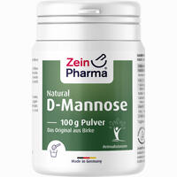 Natural D-mannose Powder  Pulver 100 g