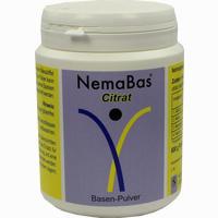 Abbildung von Nema Bas Citrat Pulver 600 g
