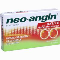 Abbildung von Neo- Angin Benzydamin Lutschtabletten 20 Stück