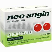 Neo-angin Halstabletten Zuckerfrei  Lutschtabletten 48 Stück