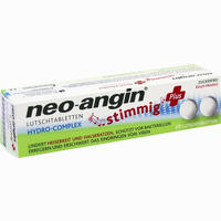 Abbildung von Neo- Angin Stimmig Plus Kirsche Lutschtabletten  20 Stück