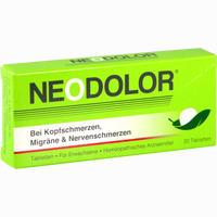 Abbildung von Neodolor Tabletten 20 Stück