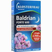 Nervenruh Baldrian Forte 600  Tabletten 30 Stück