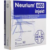 Abbildung von Neurium 600 Injekt Ampullen 5 Stück