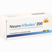 Neuro Vibolex 200 Filmtabletten 50 Stück