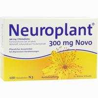Abbildung von Neuroplant 300mg Novo Filmtabletten 100 Stück
