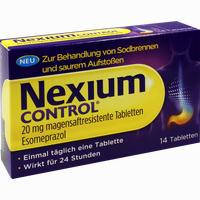 Nexium Control 20mg  Tabletten 14 ST