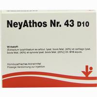 Neyathos Nr. 43 D10  Ampullen 5X2 ml