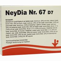 Neydia Nr. 67 D7  Ampullen 5X2 ml