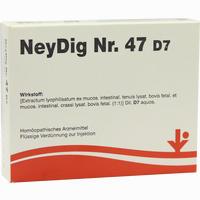 Neydig Nr. 47 D7  Ampullen 5X2 ml