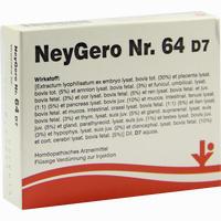 Abbildung von Neygero Nr. 64 D7  Ampullen 5X2 ml