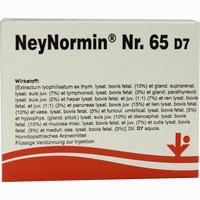 Neynormin Nr. 65 D7  Ampullen 5X2 ml