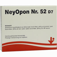 Neyopon Nr. 52 D7  Ampullen 5X2 ml