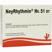 Neyrhythmin Nr. 51 D7  Ampullen 5X2 ml