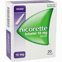 Abbildung von Nicorette Inhaler 15mg 20 Stück
