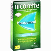 Abbildung von Nicorette Kaugummi 4mg Whitemint  30 Stück
