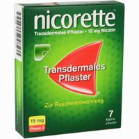 Abbildung von Nicorette Tx Pflaster 15mg Pflaster Transdermal 7 Stück