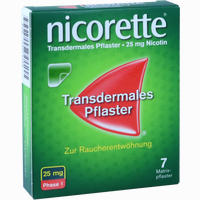 Abbildung von Nicorette Tx Pflaster 25mg Pflaster Transdermal 7 Stück