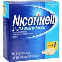 Abbildung von Nicotinell 21mg/24- Stunden- Pflaster Stark 1  21 Stück