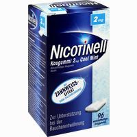 Abbildung von Nicotinell Kaugummi Cool Mint 2mg  96 Stück