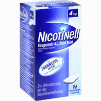 Abbildung von Nicotinell Kaugummi Cool Mint 4mg  96 Stück