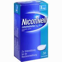 Abbildung von Nicotinell Lutschtabletten 1mg Mint  36 Stück