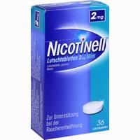 Abbildung von Nicotinell Lutschtabletten 2mg Mint  36 Stück