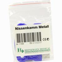 Nissenkamm Metall Brinkmann Medical - Dr. Junghans 1 Stück