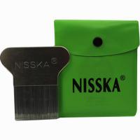Nisska Läuse- Und Nissenkamm Metall 1 Stück