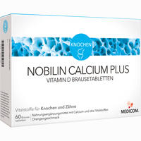 Nobilin Calcium Plus Vitamin D Brausetabletten   60 Stück