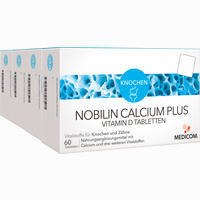 Nobilin Calcium Plus Vitamin D  Tabletten 4X60 Stück
