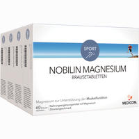 Nobilin Magnesium Brausetabletten   4X60 Stück