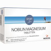 Nobilin Magnesium Tabletten   60 Stück