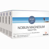 Nobilin Magnesium Tabletten   4X60 Stück