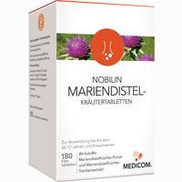 Nobilin Mariendistel-kräutertabletten  Filmtabletten 180 Stück