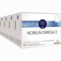 Nobilin Omega 3  Kapseln 4X120 Stück