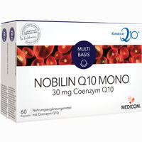 Nobilin Q10 Mono  Kapseln 2X60 Stück