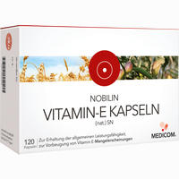 Nobilin Vitamin-e Kapseln (nat.) Sn   120 Stück