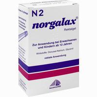 Norgalax Miniklistier  Gel 6X10 g