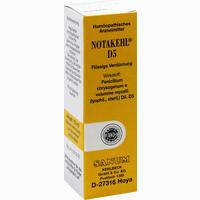 Abbildung von Notakehl D5 Tropfen 10 ml