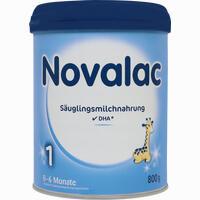 Abbildung von Novalac 1 Säuglings- Milchnahrung Pulver 800 g