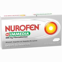 Abbildung von Nurofen Immedia 400 Mg Filmtabletten  12 Stück