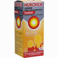 Abbildung von Nurofen Jr Fieber- und Schmerzsaft Erdbeer 40mg/ml Suspension 150 ml