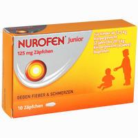 Abbildung von Nurofen Junior 125 Mg Zäpfchen  10 Stück