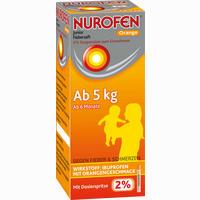 Abbildung von Nurofen Junior Fiebersaft Orange 2% Suspension 100 ml