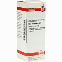 Abbildung von Nux Vomica D12 Dilution Dhu-arzneimittel 20 ml