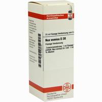 Nux Vomica D30  Dilution Dhu-arzneimittel 20 ml
